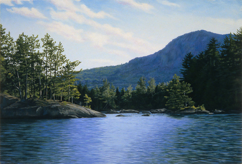 Back Cove, 2006, oil on panel, 13 x 19 in